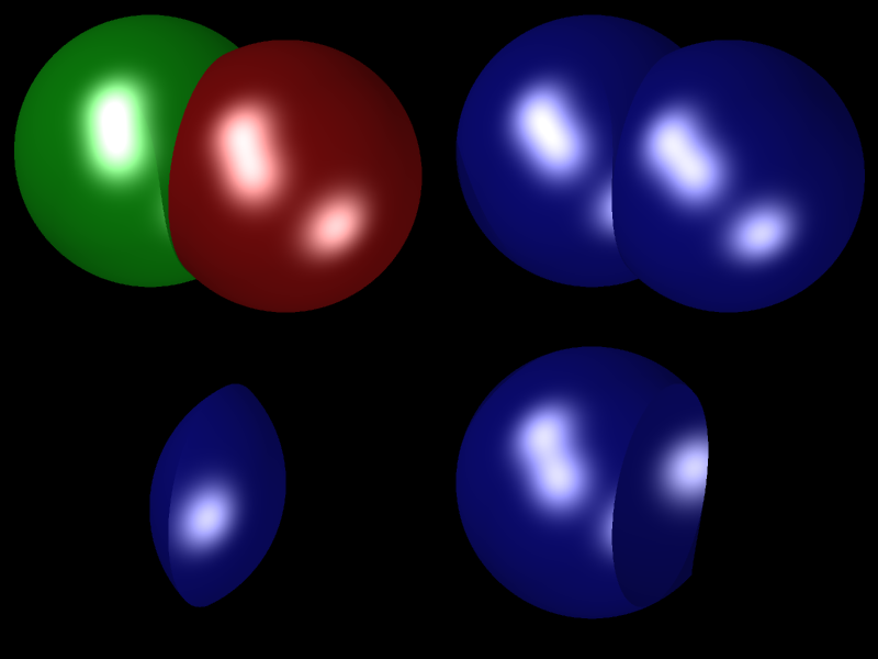 LMBov-Ray: Constructive Solid Geometry (CSG)
